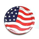 American Flag Plates 8pk