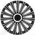 Autostyle PP 5137 Satz Radzierblenden LeMans 17-Zoll, Schwarz/Silber von AutoStyle bei Reifen Onlineshop