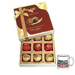 Unique Gift To Your Friend With Friendship Mug - Chocholik Luxury Chocolates