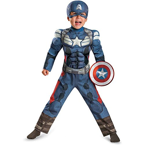 Captain America Movie 2 Muscle Toddler Costume
