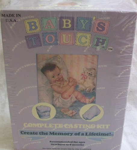 Baby's Touch, a Complete Casting Kit, Creates a Memory of a Life Time