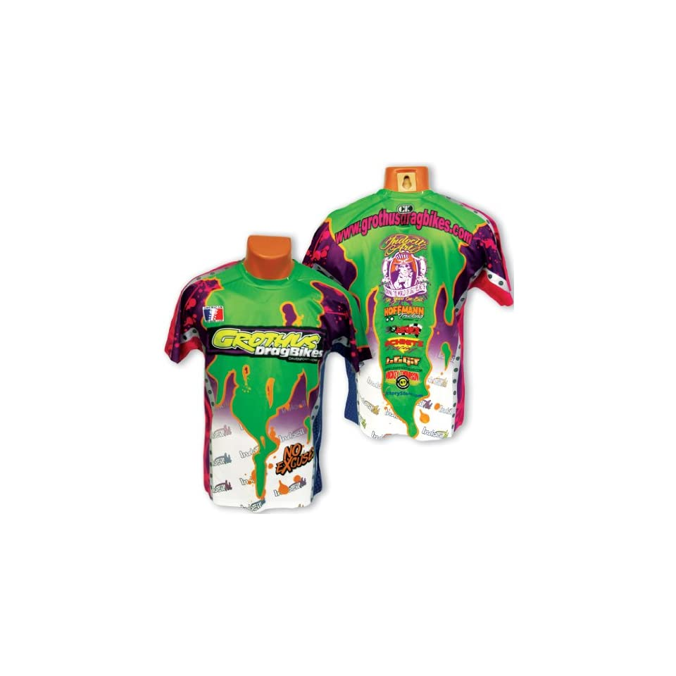 Team Grothus Drag Racing Team Shirts   Large   Limited Quantity