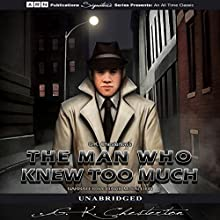 The Man Who Knew Too Much Audiobook by G.K. Chesterton Narrated by David McCallion