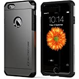 iPhone 6 Case - EliteCase™ Ultimate Armor - Extreme Durable and Protective Triple Layer Design. Includes Crystal Clear HD Screen Protector. Gunmetal Color. For 4.7″ Apple iPhone 6 - Lifetime Warranty