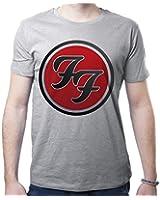 Foo Fighters Music Band Super Star Round Logo Gradient Hommes T-Shirt