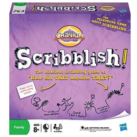 Jeu de société the Scribblish Game (attention jeu en anglais)