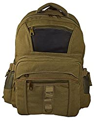 Classic Unisex High Density Washed Canvas With Touches of Leather 17