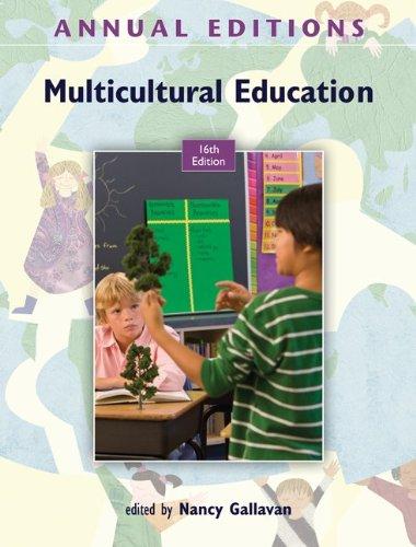 Annual Editions: Multicultural Education, 16/e