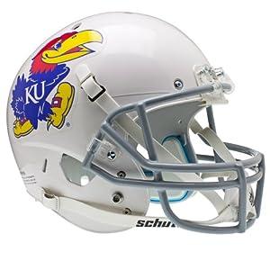 NCAA Kansas Jayhawks Replica XP Helmet - Alternate 1 (White) by Schutt