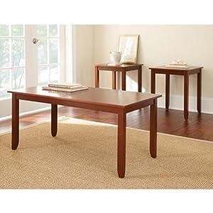 Admirable Cheap Steve Silver Angel Rectangular Wood 3 Piece Coffee Machost Co Dining Chair Design Ideas Machostcouk