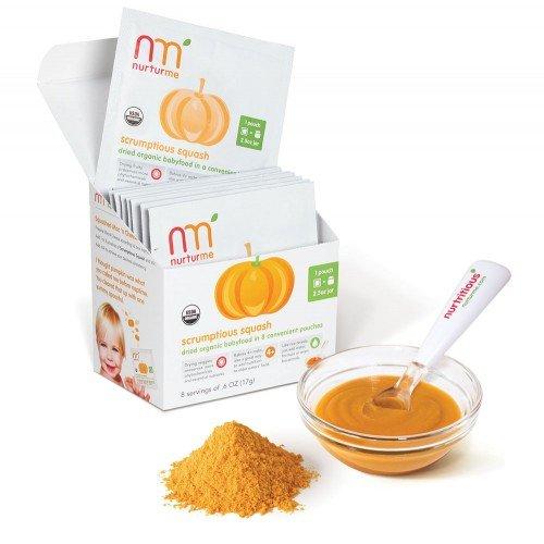 NurturMe Scrumptious Squash Dry Baby Food - 8 pk