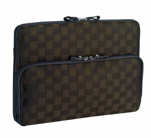SOLO Studio Collection MacBook and MacBook Pro Fleece-Lined Sleeve for 13 Inch MacBooks, in Chocolate Brown, APL119-3
