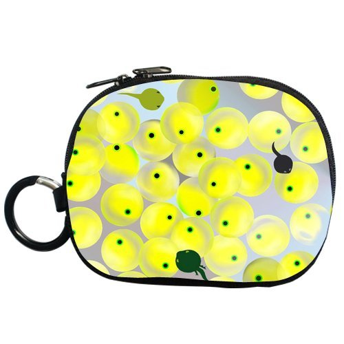 Generic Personalized Cartoon Tadpole And Eggs For Coin Purse (Two Side) front-909095