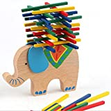 New Kids Smart Toys Wooden Blocks Toy Balancing Elephant Educational Camel Bar Games Toy