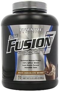 Dymatize Nutrition Elite Fusion, Rich Chocolate Shake, 5.15-Pound