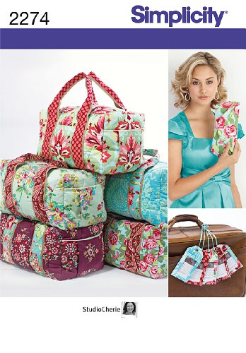 Learn More About Simplicity Sewing Pattern 2274 Bags, One Size