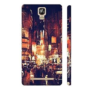 Enthopia Designer Hardshell Case Vintage Street Back Cover for Gionee Marathon M5 Plus