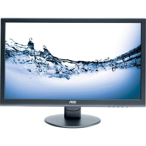 "Aoc E2752Vh 27"" Led Monitor - Adjustable Display Angle - 1920 X 1080 - 16.7 Million Colors - 300 Nit - 20,000,000:1 - Full Hd - Speakers - Dvi - Hdmi - Vga - 40 W - Black - Energy Star ""Product Category: Computer Displays/Monitors"""