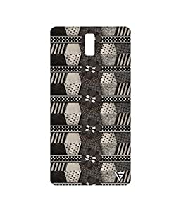 Vogueshell Multi Patterns Printed Symmetry PRO Series Hard Back Case for Oneplus One