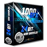 1000 SFX Production Tools Vol. 3 WAV Files (24Bit) - 3rd part of Exeptionally Good Sound Effects designed for Commercial use: Modern Music Production, Film, TV, Radio SFX Sounds