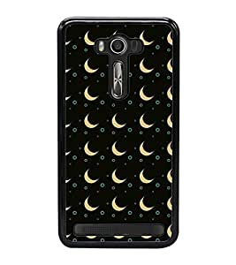 Vizagbeats Apricot Half Moon Back Case Cover for ASUS ZENFONE LASER 550KL