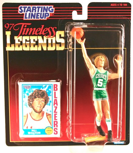 Bill Walton Blazers Starting Lineup Collectible Figure & Card - 1