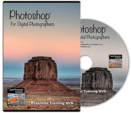 Photoshop for Digital Photographers - Essential Training DVD