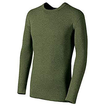 Buy Duofold by Champion Originals Mid-Weight Wool-Blend Mens Thermal Shirt KMO1, Ol by Champion