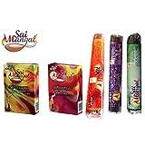 Sai Mangal Agarbatti/Incense Sticks Pooja Special Series With Dhoop Sticks- Pooja Special, Lavender & Mogra With...