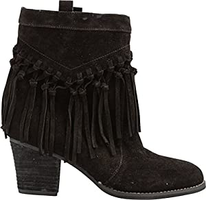 Sbicca Women's Sound Ankle Boot,Black,6 B US