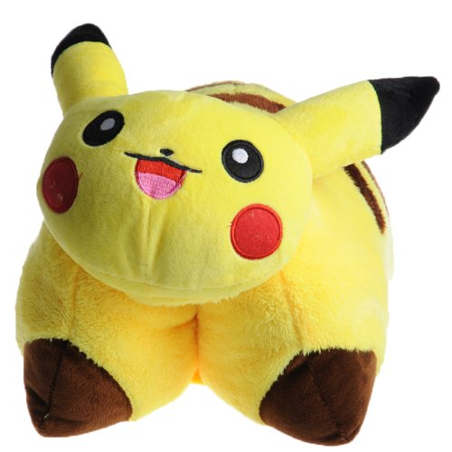 Lowest Prices! FS Pokemon Pikachu Transforming Pillow / Pikachu pillow pet