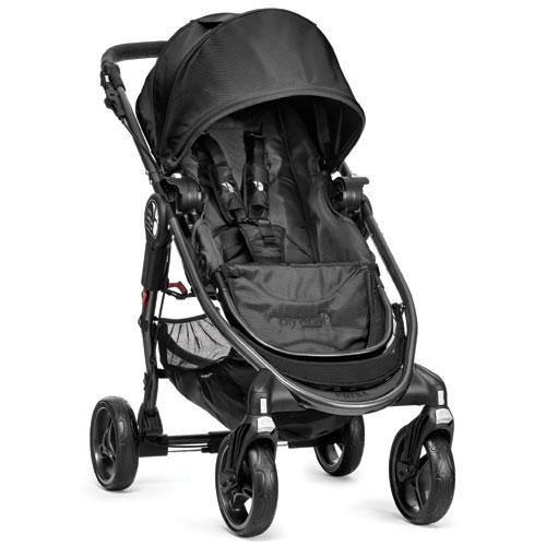 Baby Jogger City Versa Stroller, Black back-876531