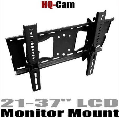 "Hq-Cam Cctv Surveillance High-Quality Tilt Lcd Led Tv Wall Mount For Most Sony Bravia, Samsung, Lg, Haier, Panasonic, Vizio, Sharp Aquos, Westinghouse, Pioneer, Proscan, Rca, Toshiba, Magnavox, Sanyo 21-37"" Lcd Led Plasma Hdtv Flat Panel Screen Display"