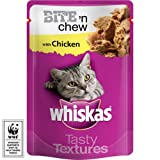 Whiskas Pouches Bite N Chew Chicken 28 X 85G