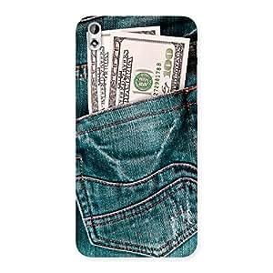 Premium Pocket Full Jeans Multicolor Back Case Cover for HTC Desire 816g