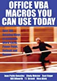 Acquista Office VBA Macros You Can Use Today: Over 100 Amazing Ways to Automate Word, Excel, PowerPoint, Outlook, and Access [Edizione Kindle]