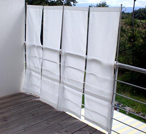 paravue 3 4 balkonsichtschutz werkzeugfrei 1 50 m hoch. Black Bedroom Furniture Sets. Home Design Ideas