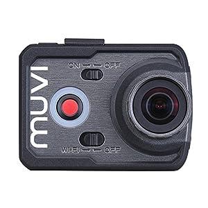 VCC-006-K1 MUVI K-シリーズ K11080 Wi-Fiハンズフリー ビデオカメラ Veho社【並行輸入】