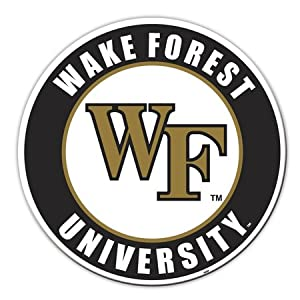 Buy NCAA Wake Forest Demon Deacons 12 inch Vinyl Magnet by BSI