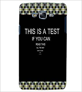 PrintDhaba Quote D-3997 Back Case Cover for SAMSUNG GALAXY ON 5 (Multi-Coloured)