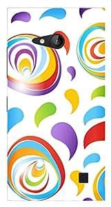 TrilMil Printed Designer Mobile Case Back Cover For MICROSOFT NOKIA LUMIA 730