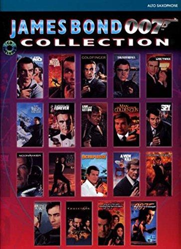 James Bond 007 Collection: Alto Sax, Book & CD