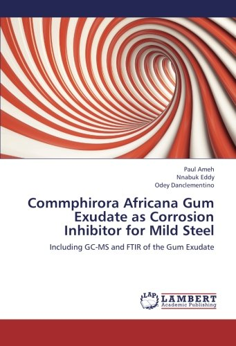 Commphirora Africana Gum Exudate as Corrosion Inhibitor for Mild Steel: Including GC-MS and FTIR of the Gum Exudate