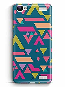 YuBingo Vibrance Designer Mobile Case Back Cover for Vivo V1 Max