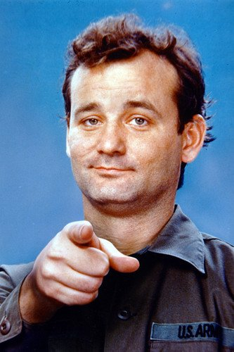 Bill Murray Pointing From Stripes 24X36 Poster daniel g murray tableau your data