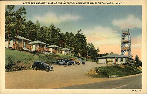 cottages-and-gift-shop-at-the-outlook-mohawk-trail-florida-massachusetts-original-vintage-postcard