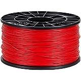 NuNus 3D Printer PLA Filament 1,75mm 1KG Spool (red) for MakerBot RepRap MakerGear Ultimaker ...
