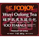 Foojoy Wuyi Mtn. Oolong (Wu Long) Weight Loss Tea 100 Tea Bags,NET WEIGHT 7 OZ.