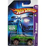 HOT WHEELS INSTANT WIN HI-RAKERS MONTEZOOMA, GREEN 101/223