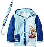 Fantasia Little Girls' Frozen Sisters Umbrella Raincoat Set